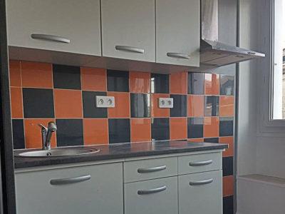 Rénovation d'un espace cuisine A à Z Revêtements
