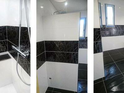 Rénovation d'une salle de bain à Cours de Pile