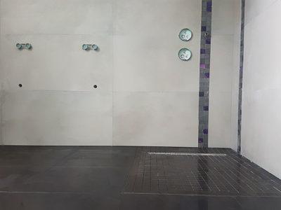 Création d'une salle de bain et d'un WC A à Z Revêtements