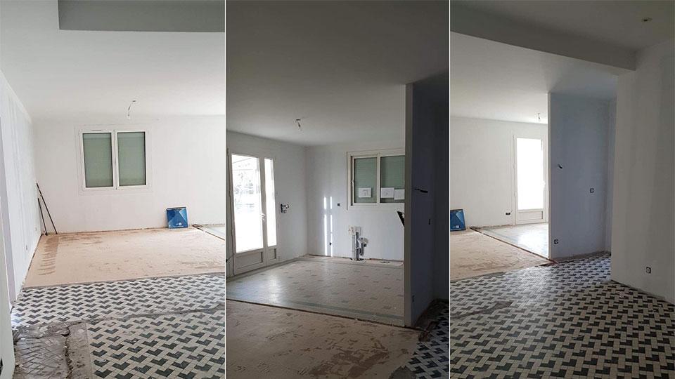 Rénovation d'une maison des années 60 A à Z Revêtements
