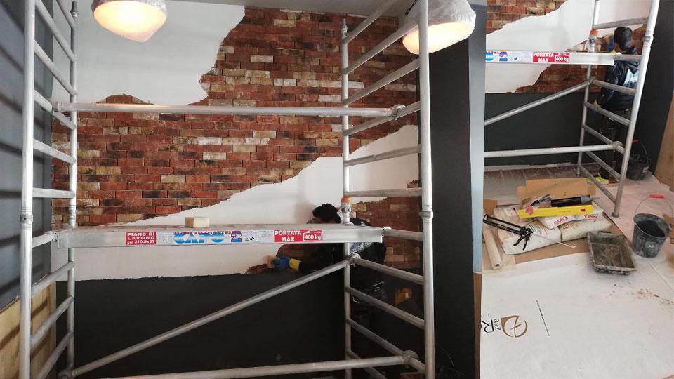 Rénovation restaurant Walnut Eymet A à Z Revêtements