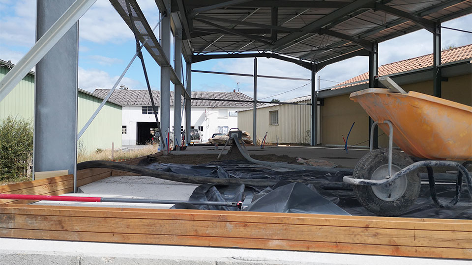 Rénovation carrelage - Boucherie Pradelles à Vergt