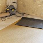 Rénovation d'un sol en vinyle tissé Bolon par A à Z Revêtements